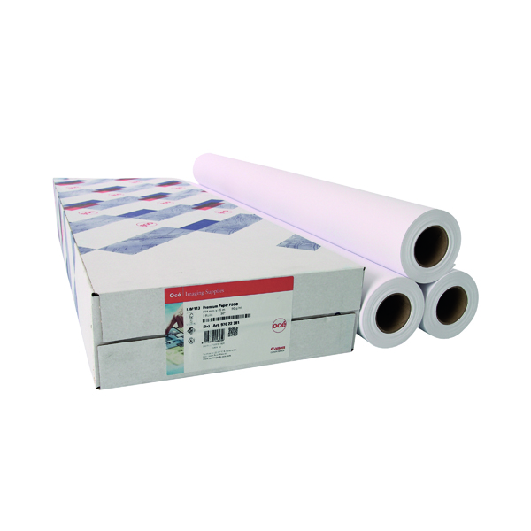 Other Sizes Canon Coated Premium Inkjet Paper 914mmx45m (3 Pack) 97003449