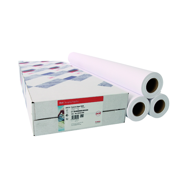 Other Sizes Canon Coated Premium Inkjet Paper 610mmx45m (3 Pack) 97003451