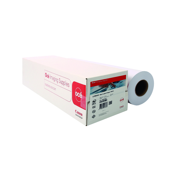 Other Sizes Canon Plain Uncoated Red Label Paper 594mmx175m (2 Pack) 97003495