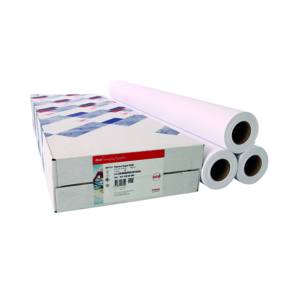 Unspecified Canon Top Colour Paper 90gsm 841mmx50mm White 97003499