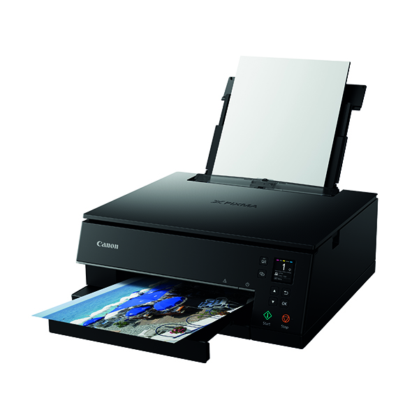 Inkjet Printers Canon PIXMA TS6350 BK AIO Printer 3774C008