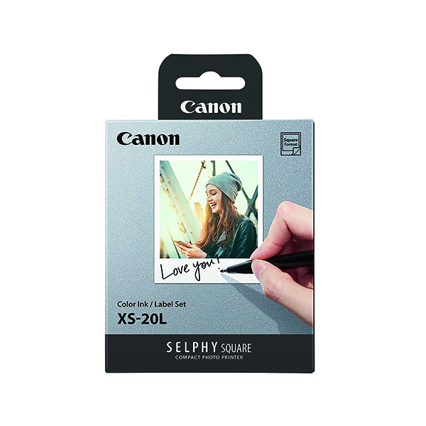 Photo Size Canon Selphy Square XS-20L 68x68mm (20 Pack) 4119C002AA