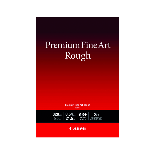 Other Sizes Canon FA-RG1 A3+ Photo Paper Premium FineArt Rough (25 Pack) 4562C004
