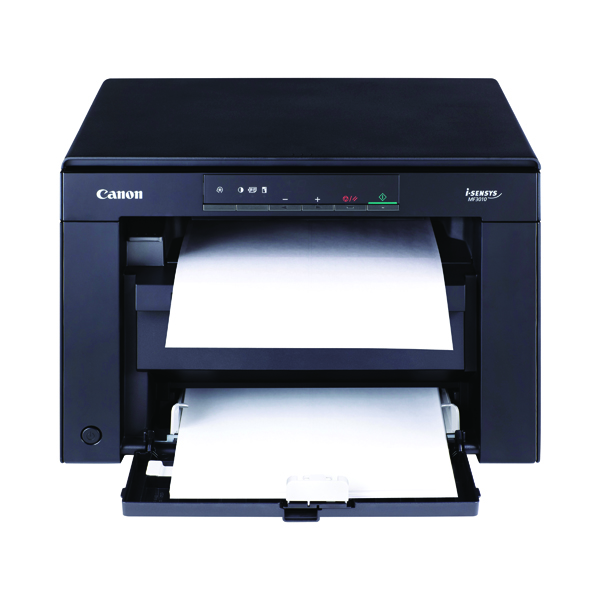 Multifunctional Machines Canon i-Sensys MF3010 Mono Laser All-in-One Printer Black 5252B012