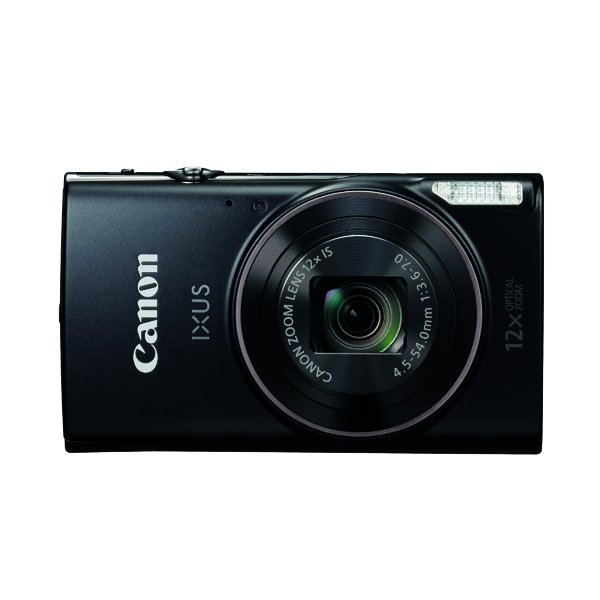 Digital Pictures Canon IXUS 285 Camera in Black 1076C007