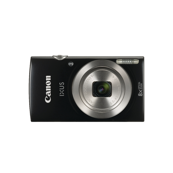 Digital Pictures Canon IXUS 185 Digital Camera Black 1803C009
