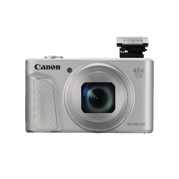 Digital Pictures Canon PowerShot SX730 HS Digitial Camera Silver 1792C011AA