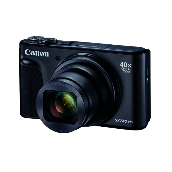 Digital Pictures Canon Powershot SX740 Black HS Camera CO65769