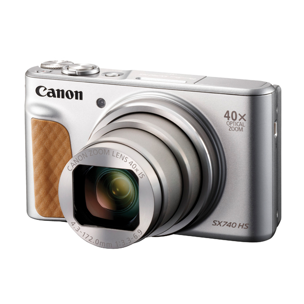 Digital Pictures Canon Powershot SX740 Silver HS Camera CO65771