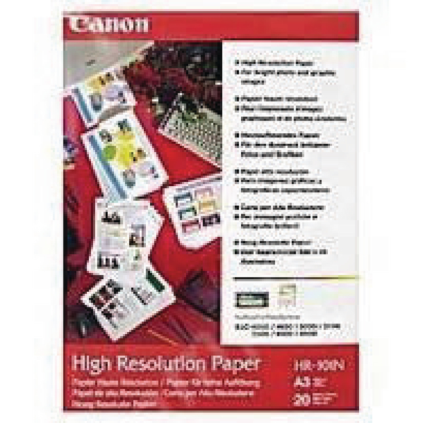 Other Size Canon High Resolution A3 Inkjet Paper 106gsm (100 Pack) 1033A005