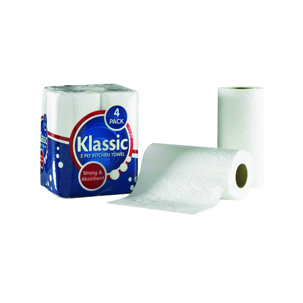 Tissues/Rolls Klassic Kitchen Roll White 1105090