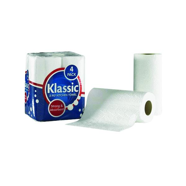Tissues/Rolls Klassic Kitchen Roll White 1105090