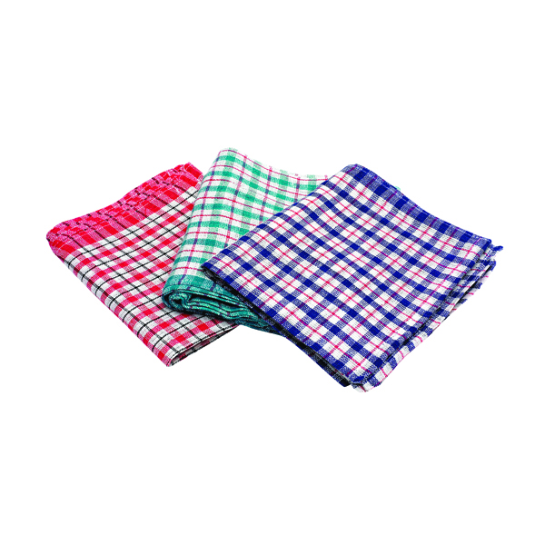 Other Assorted Check Design Tea Towels 430x680mm (10 Pack) KRSRY0311