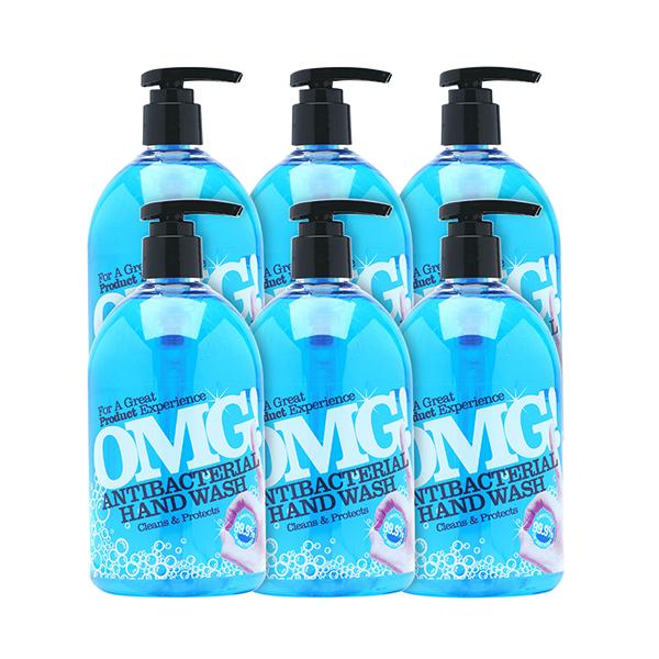 Floor Cleaning OMG Antibacterial Hand Soap 500ml (6 Pack) 0604398