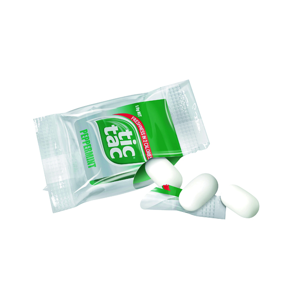 Sweets/Chocolate Tic Tac Mini 4 Pieces (1000 Pack) 0401169