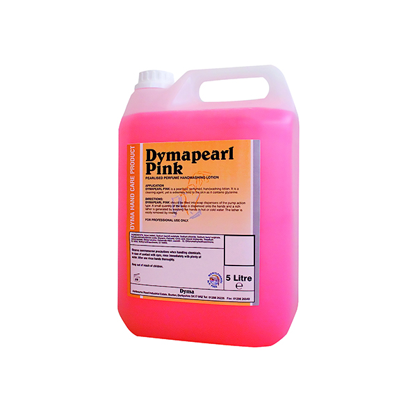 Hand/Soap Dymapearl Hand Soap Pink 5 Litre 0604244