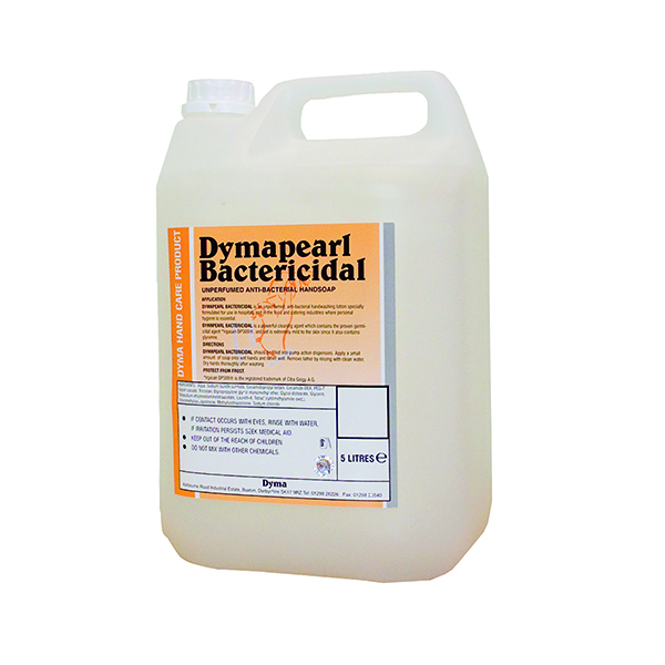 Hand/Soap Dymapearl Antibacterial Hand Cleaner 5 Litre 0604248
