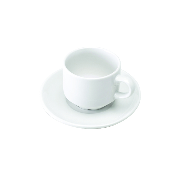 Crockery White Cup and Saucer (6 Pack) 305091