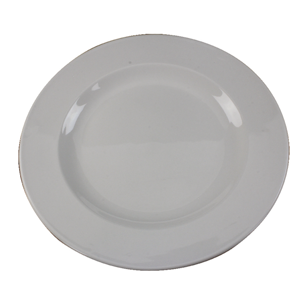 Tableware White 250mm Porcelain Plate (6 Pack) 304111