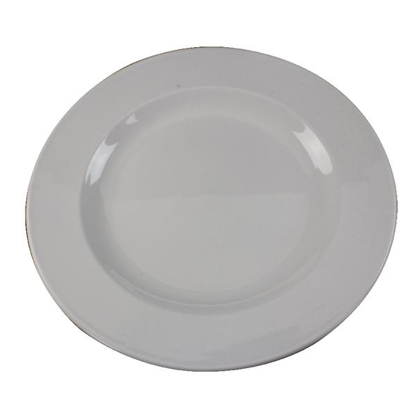 Crockery White 250mm Porcelain Plate (6 Pack) 304111