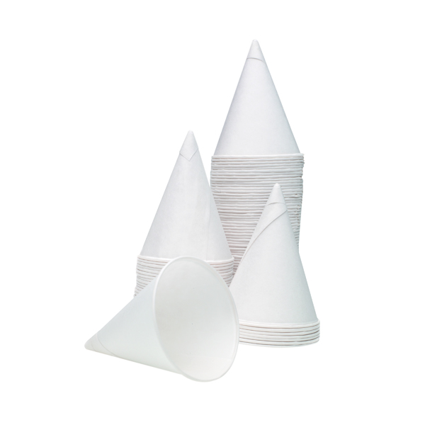 Cups/Mugs/Glasses 4oz Water Drinking Cone Cup White (5000 Pack) ACPACC04