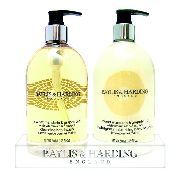 Floor Cleaning Baylis & Harding Mandarin and Grapefruit Wash and Lotion Set 0604243