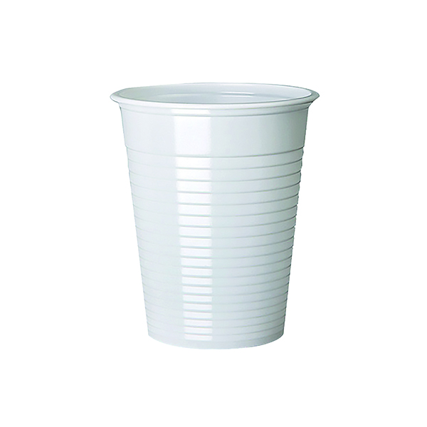 Cups/Mugs/Glasses MyCafe Plastic Cups White 7oz (1000 Pack) DVPPWHCU01000V