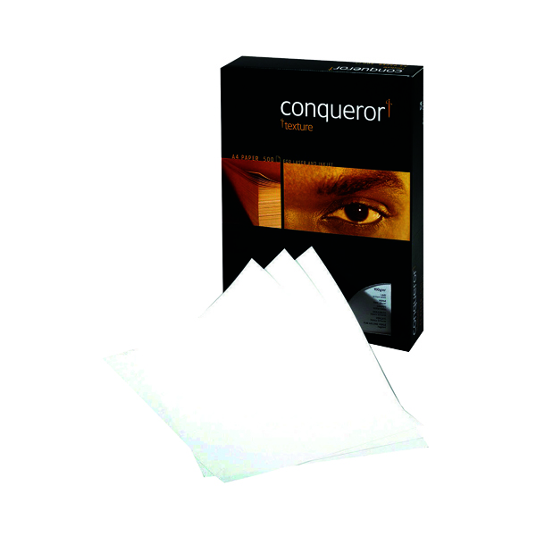 White 100gsm Conqueror Laid A4 Paper 100gsm Brilliant White (500 Pack) CQP0324032BWNW