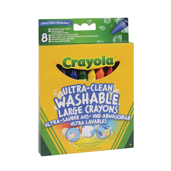 Crayon Crayola Ultra Clean Large Crayons (48 Pack) 52-3282-E-000