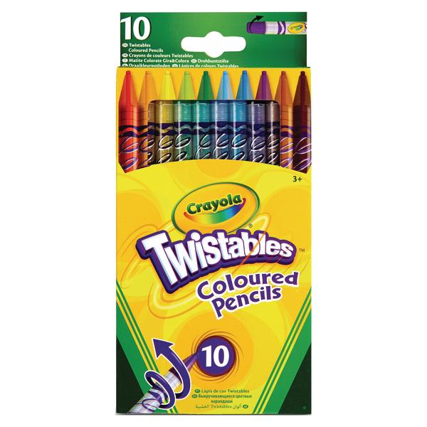 Crayola Twistable Pencils (60 Pack) 68-7415-E-000