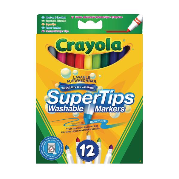 Crayola Bright Supertips (72 Pack) 3.7509