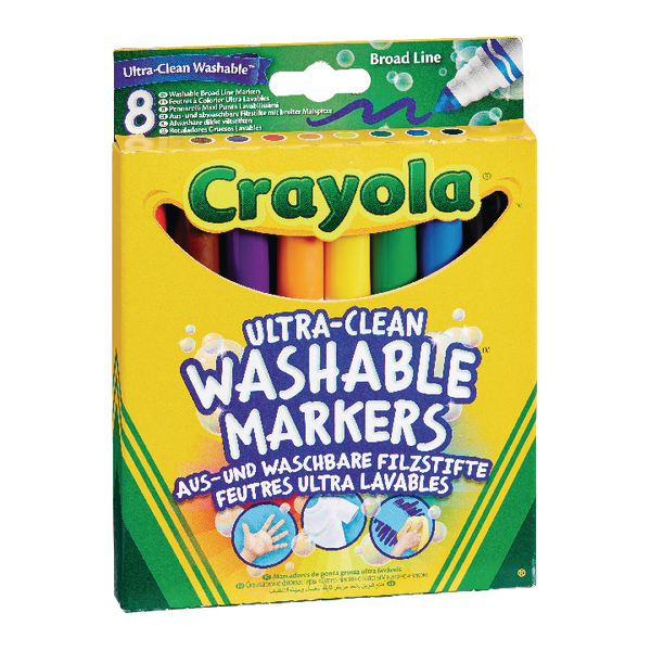 Crayola Ultra Clean Washable Markers (48 Pack) 58-8328-E-000
