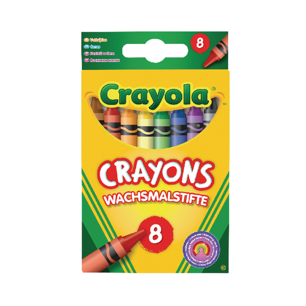 Crayon Crayola Assorted Colouring Crayons (192 Pack) 2.0008