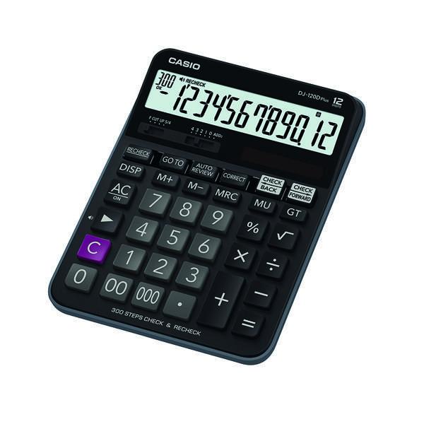 Casio Desktop Calculator DJ-120D PLUS
