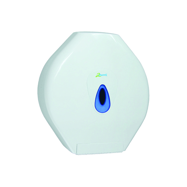 Toilet Tissue & Dispensers 2Work Standard Jumbo Toilet Roll Dispenser DS925E