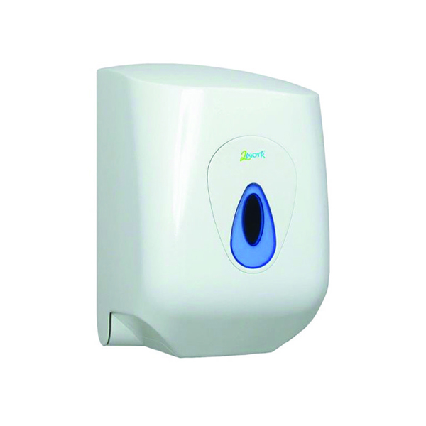 Hand Towels & Dispensers 2Work Lockable Centrefeed Hand Towel Dispenser DS922E