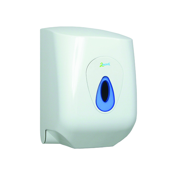 Hand Towels & Dispensers 2Work Mini Centrefeed Hand Towel Dispenser DS9220