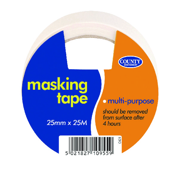 38mm+ County Masking Tape (12 Pack) C421