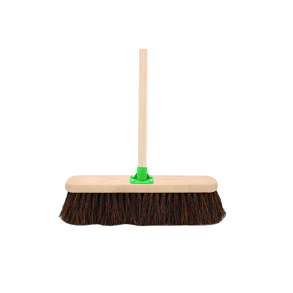 Mops & Buckets Stiff Bassine Broom with Handle 18 Inch VOW/G.12/BKT/C4