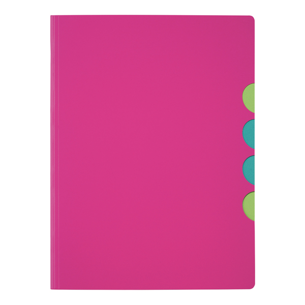 Durable Pagna 5-part Folder A4 Dark Pink (10 Pack) 4780334