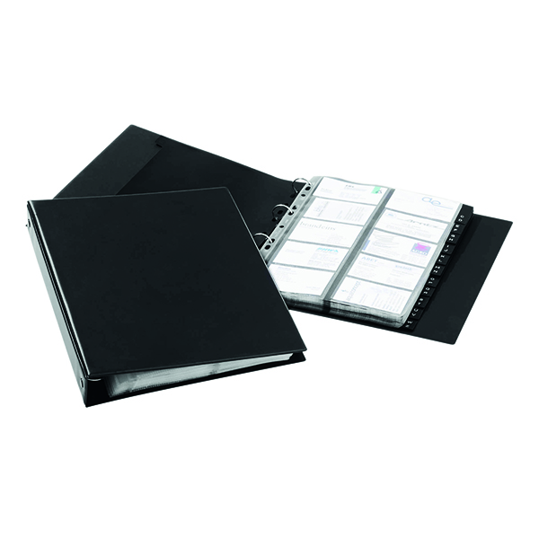 Durable Visifix Economy Business Card Album A4 2444/01