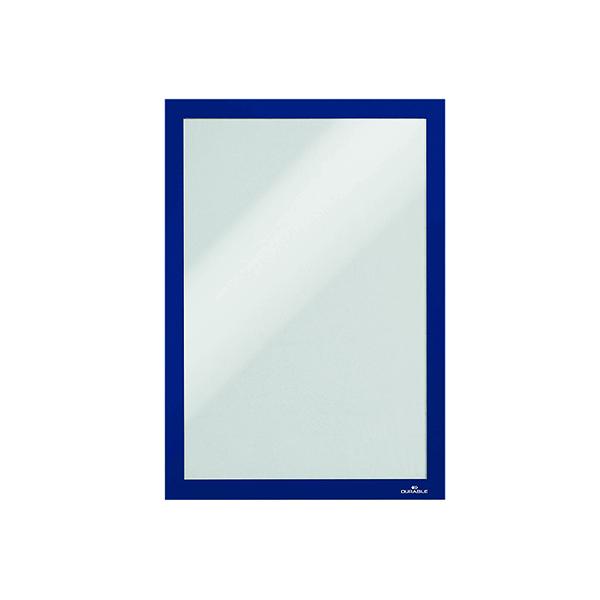 Durable Duraframe A4 Dark Blue Self Adhesive Frame (10 Pack) 4882/07