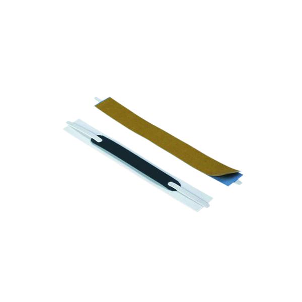 Durable Flexifix File Fastener Self Adhesive 8cm White (100 Pack) 6906/02
