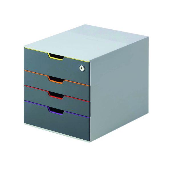 Unspecified Durable Varicolor 4 Drawer Box 760627