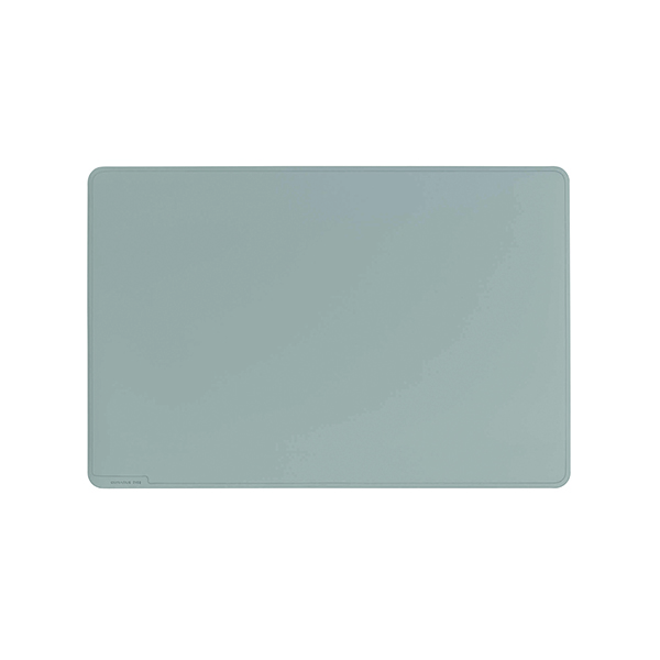 Unspecified Durable Desk Mat Contoured Edge 530 x 400mm Grey 710210