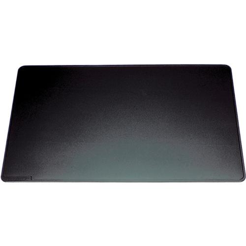 Durable Black Desk Mat With Contoured Edges 400x530mm 7102/01