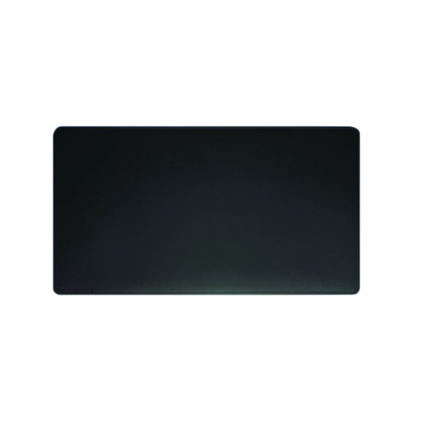 50x70cm Durable Desk Mat W650 x D520mm Black 7103/01