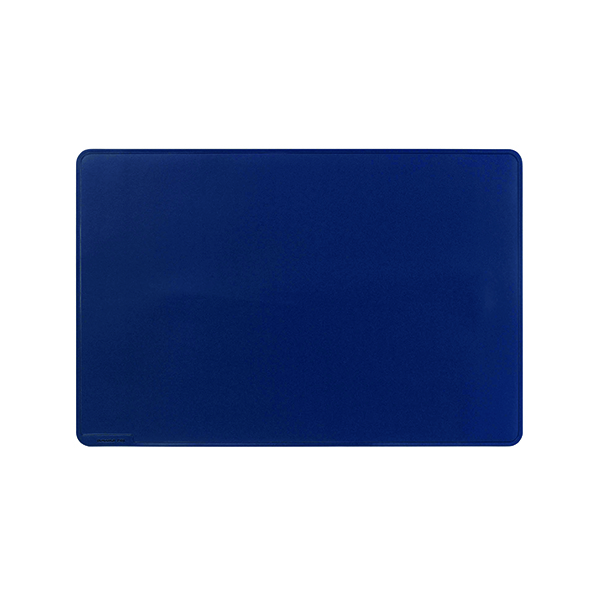 Unspecified Durable Desk Mat Contoured Edge 530 x 400mm Dark Blue 710207
