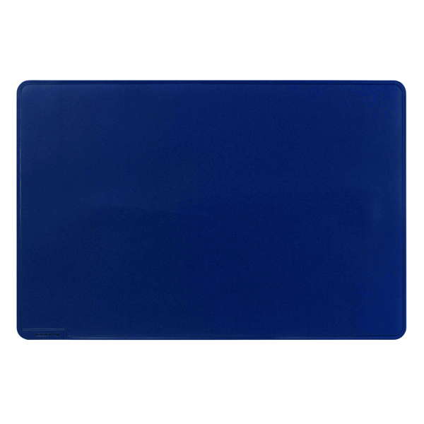 Unspecified Durable Desk Mat Contoured Edge 650 x 520mm Dark Blue 710307