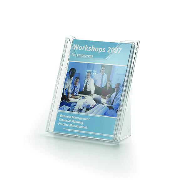 Literature Holders Durable Combiboxx A4 Portrait Literature Holder, Transparent 8578/19